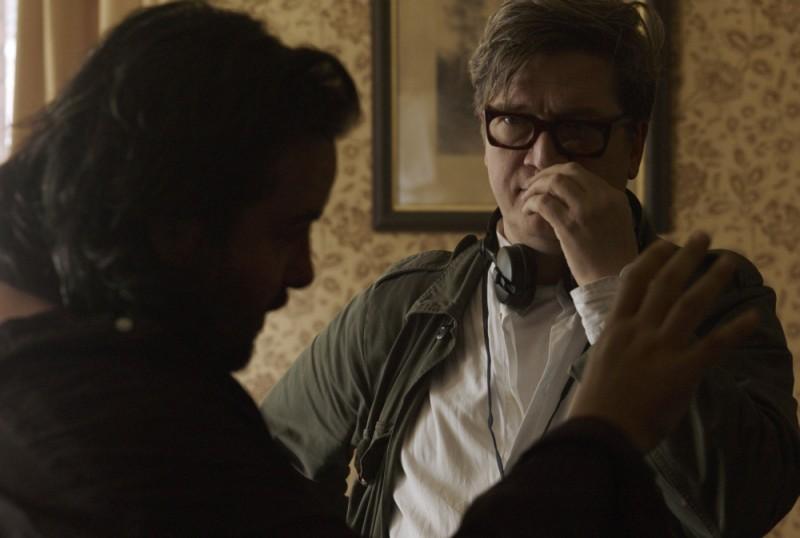 La talpa: il regista Tomas Alfredson sul set del film
