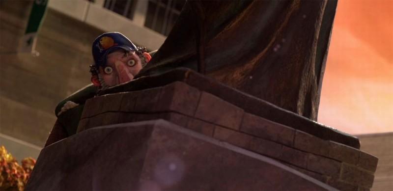 ParaNorman: una scena tratta dal film d'animazione diretto da Chris Butler e Sam Fell
