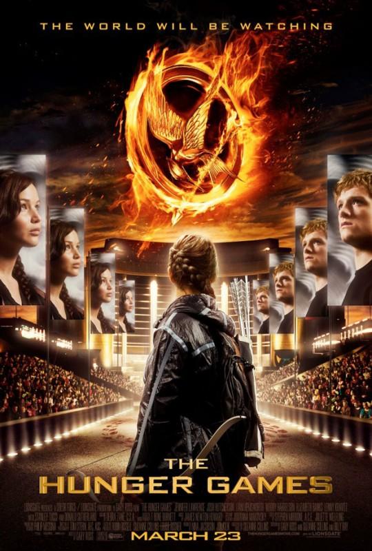 The Hunger Games: ecco una nuova scfolgorante locandina