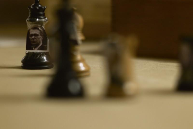 Un'immagine del film La talpa, diretto da Tomas Alfredson