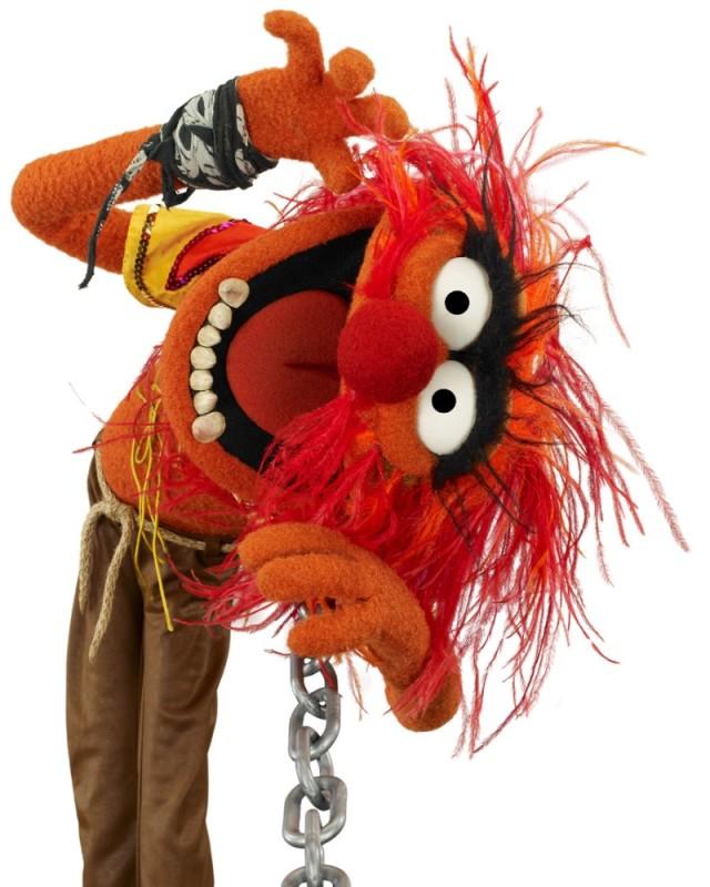 I Muppet: Animal in una divertente foto promozionale del film