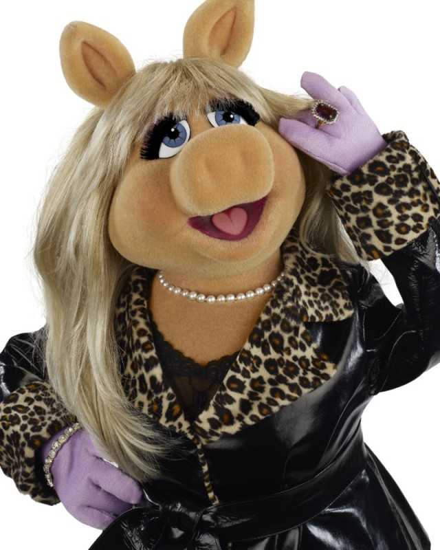 I Muppet: Miss Piggy elegantissima in una foto promozionale del film