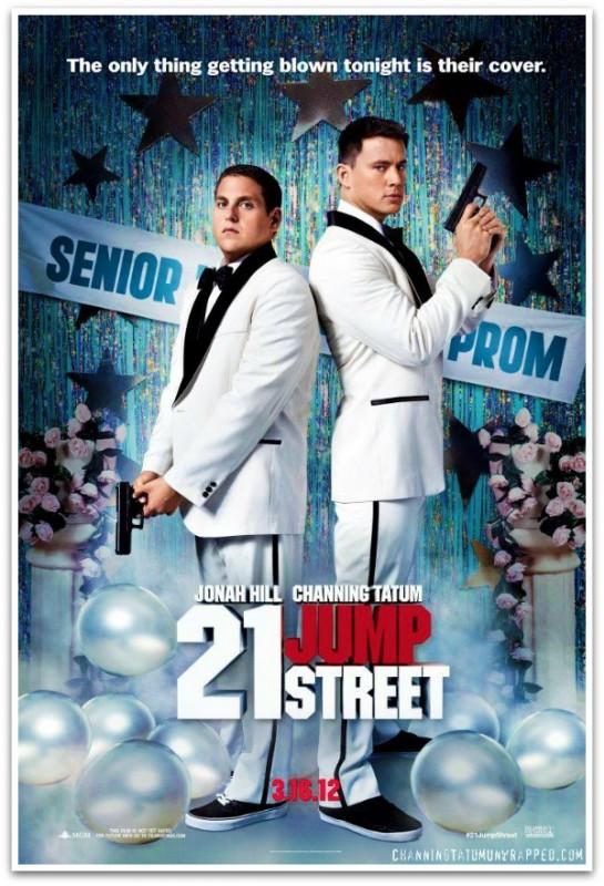 21 Jump Street: una prima simpatica locandina per il divertente action poliziesco