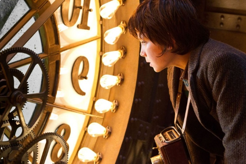Hugo Cabret 3D: Asa Butterfield in una bella scena del film di Martin Scorsese