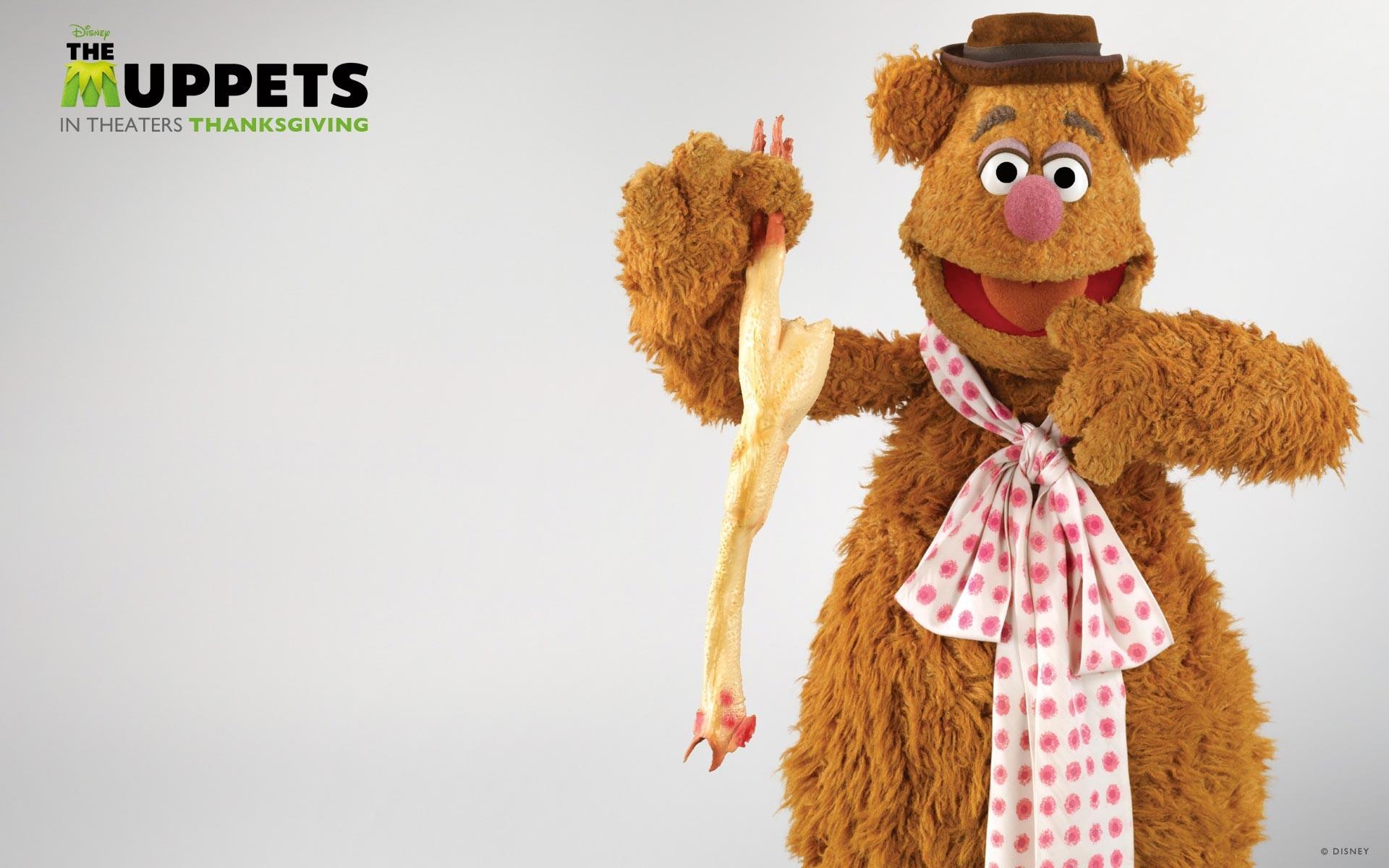 I Muppet: Fozzie Bear in un wallpaper del Ringraziamento