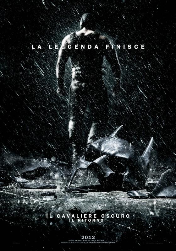 Il cavaliere oscuro - Il ritorno: primo teaser poster italiano