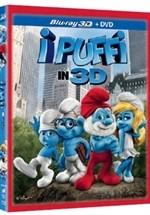 La copertina di I Puffi in 3D (blu-ray)