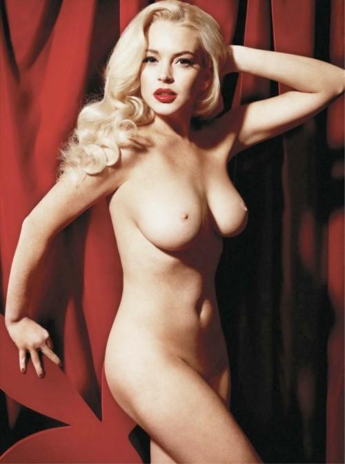 Lindsay Lohan: nudo frontale su Playboy