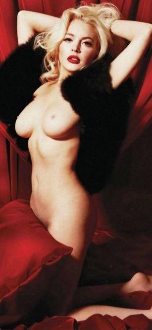 Lindsay Lohan: nudo frontale sul magazine Playboy