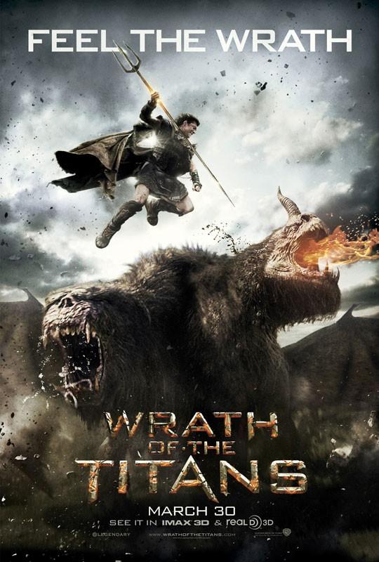 Wrath of the Titans: ecco la locandina