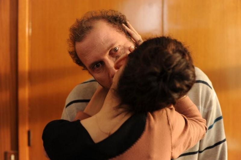 Audrey Tautou in una scena de La delicatesse con François Damiens