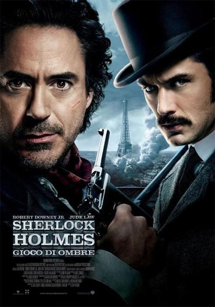 herlock Holmes: Gioco di ombre: locandina italiana definitiva