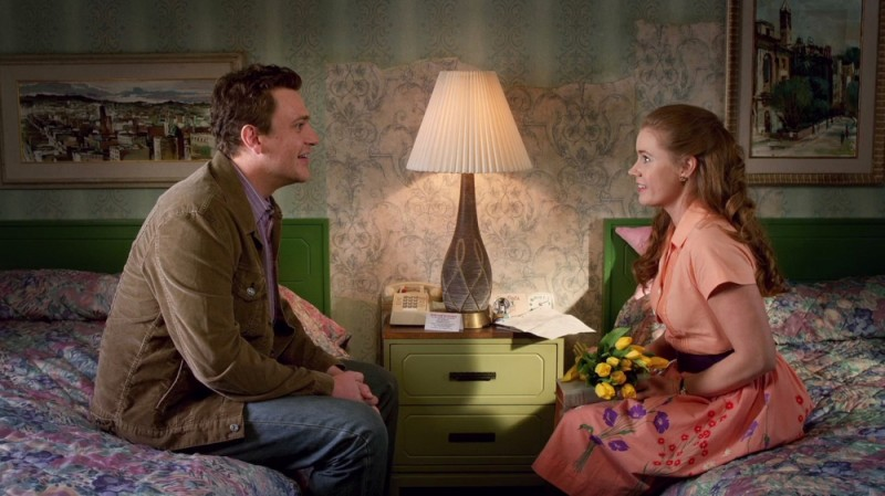 I Muppet: Jason Segel insieme a Amy Adams in una romantica scena del film
