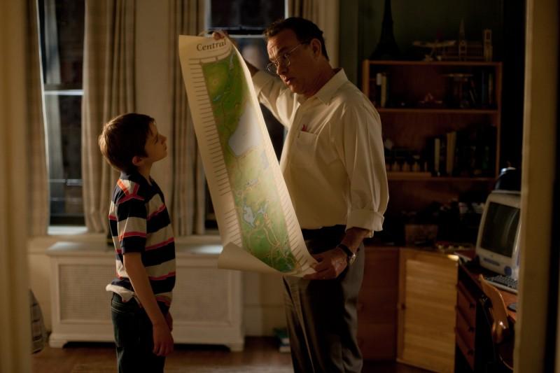 Tom Hanks con Thomas Horn in Molto forte, incredibilmente vicino