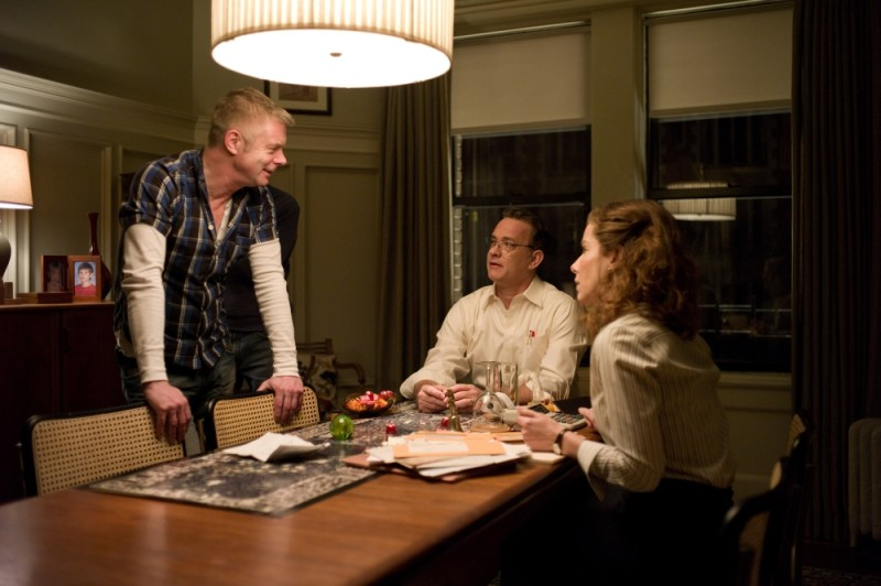 Tom Hanks, Sandra Bullock e il regista Stephen Daldry sul set di Molto forte, incredibilmente vicino