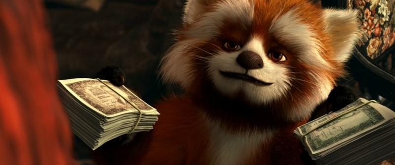 Ailur, il panda rosso del film 'Copito de Nieve'