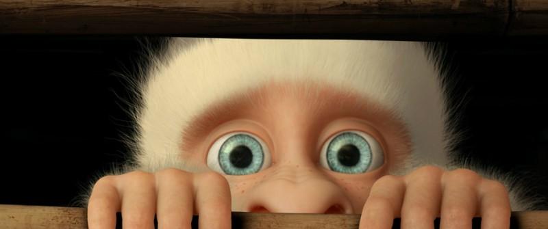 Copito de Nieve: una buffa espressione del protagonista