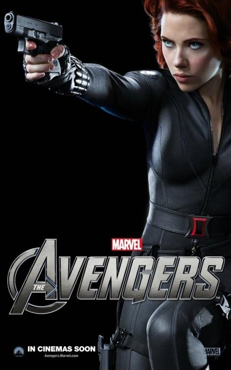 The Avengers: Character Poster per Black Widow - Scarlett Johansson