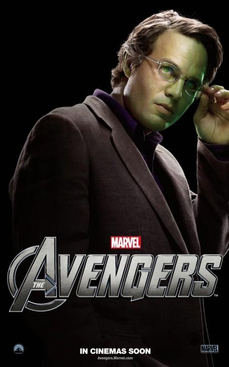 The Avengers: Character Poster per Bruce Banner (Hulk) - Mark Ruffalo