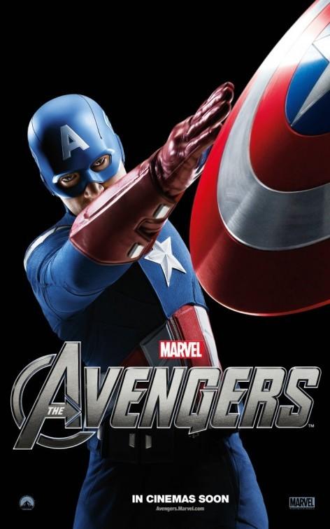 The Avengers: Character Poster per Captain America - Chris Evans