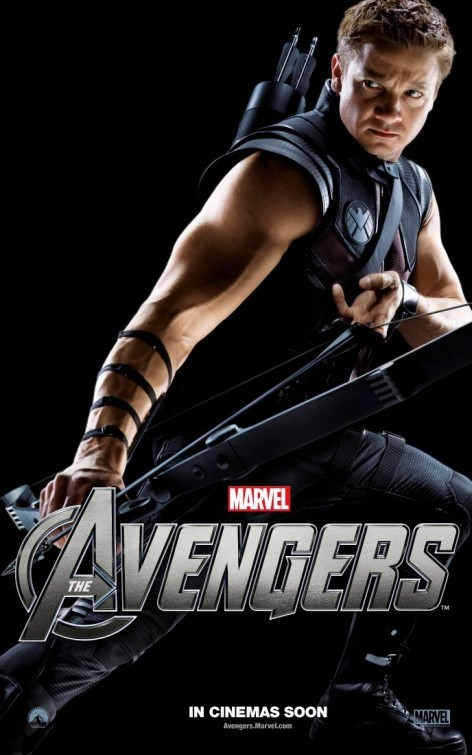 The Avengers: Character Poster per Hawkeye - Jeremy Renner