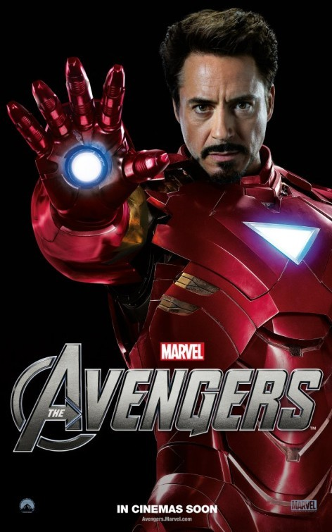 The Avengers: Character Poster per Iron Man - Robert Downey Jr.