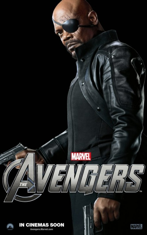 The Avengers: Character Poster per Nick Fury  - Samuel L. Jackson