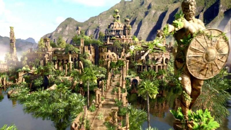 Viaggio nell'isola misteriosa: una foto panoramica del film d'avventura diretto da Brad Peyton