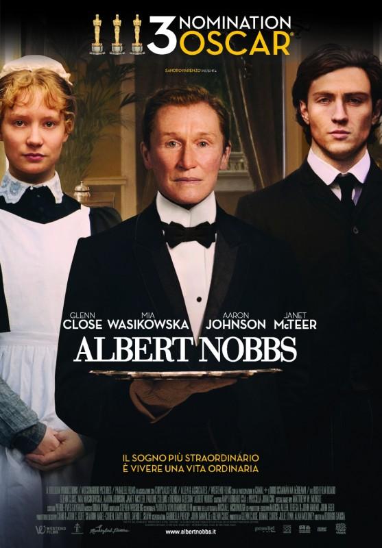 Albert Nobbs: locandina italiana
