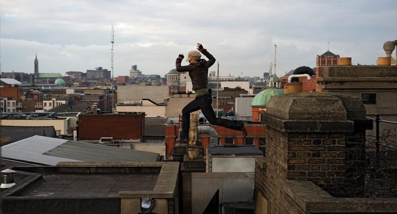Gina Carano in azione in una scena di Knockout - Resa dei conti