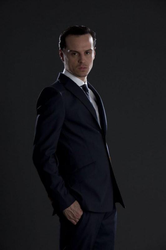 Andrew Scott è Moriarty nella seconda stagione di Sherlock