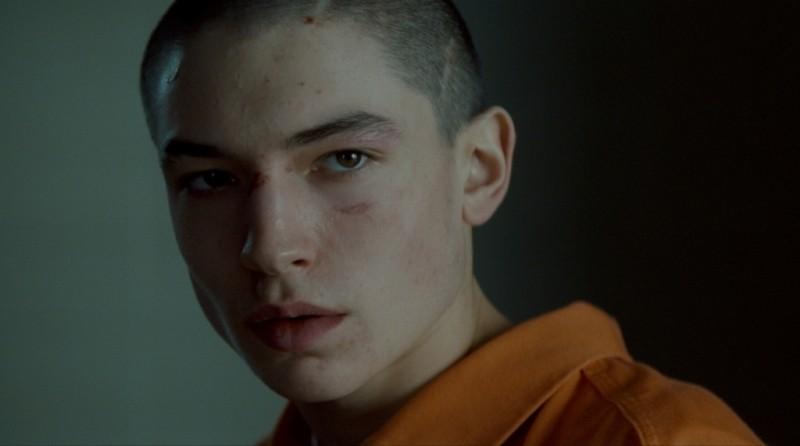 E ora parliamo di Kevin: Ezra Miller in una scena del film