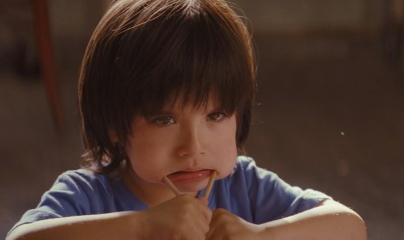 E ora parliamo di Kevin: il piccolo Rock Duer in una scena del film