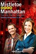 Mistletoe Over Manhattan: la locandina del film
