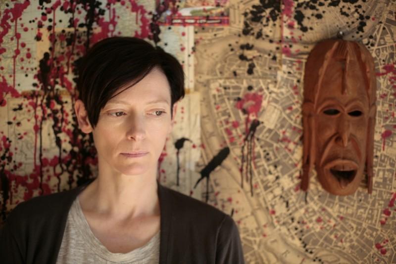Tilda Swinton in un'immagine del film E ora parliamo di Kevin