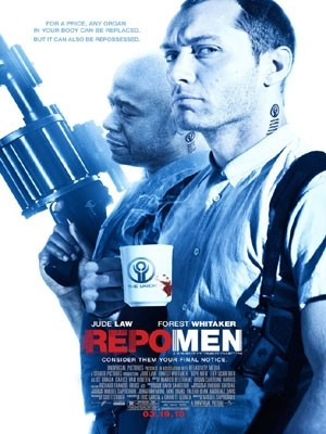 Repo Men - locandina originale del film