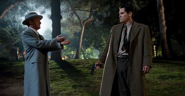 Sean Penn e Josh Brolin nella prima immagine ufficiale di The Gangster Squad