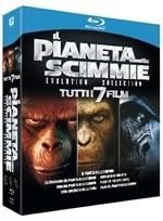 La copertina di Il pianeta delle scimmie - Evolution Collection (blu-ray)