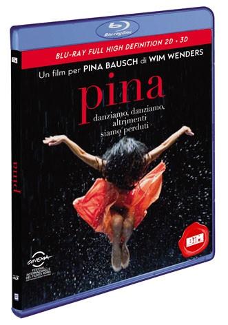 La copertina di Pina 3D (blu-ray)