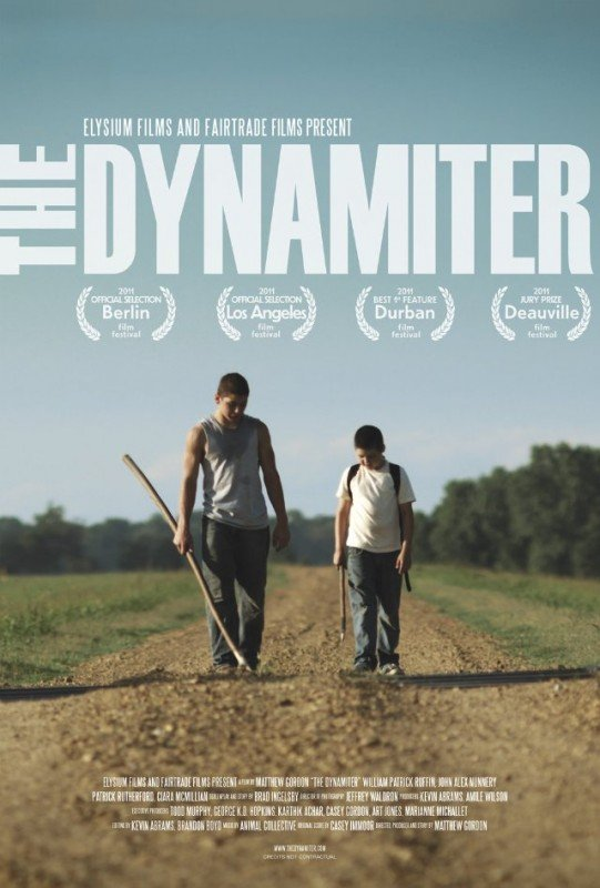 The Dynamiter: la locandina del film