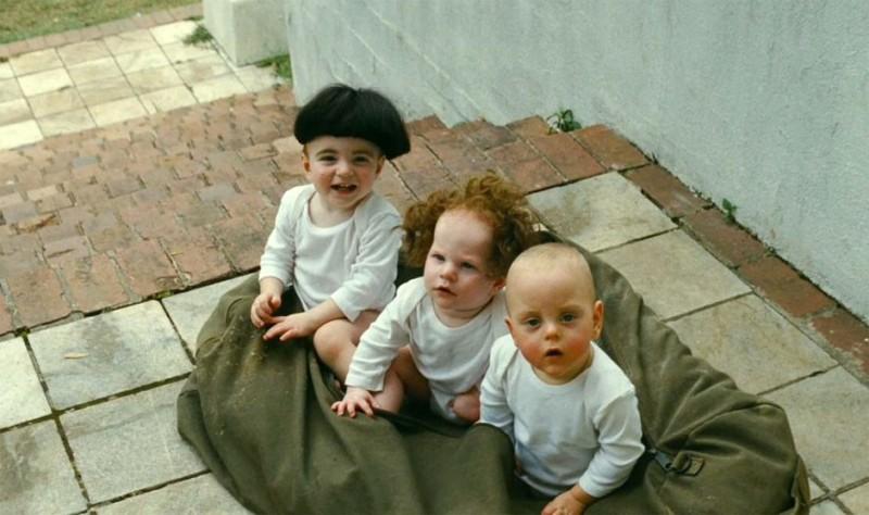 I tre marmittoni: una delle prime immagini del film