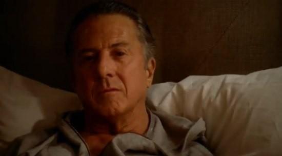 Luck: Dustin Hoffman in una scena del pilot della serie