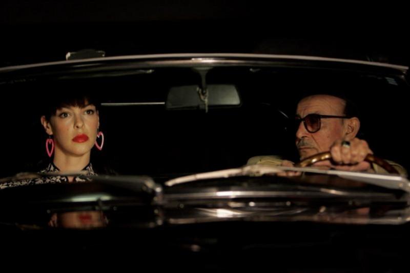 Pollyanna Mcintoch insieme a Ugo Bianchi in una scena del film Noise Matters