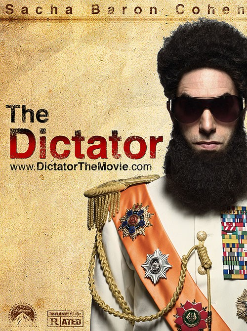 The Dictator: la locandina del film