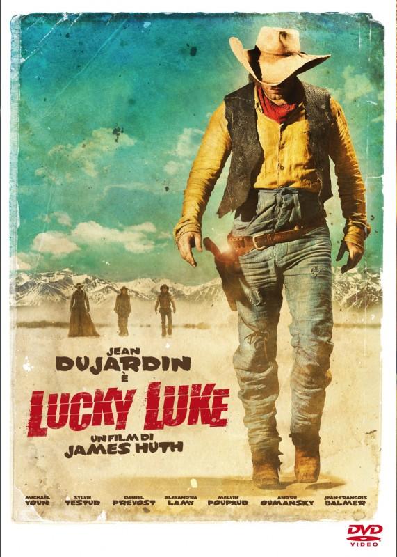 La copertina di Lucky Luke (dvd)