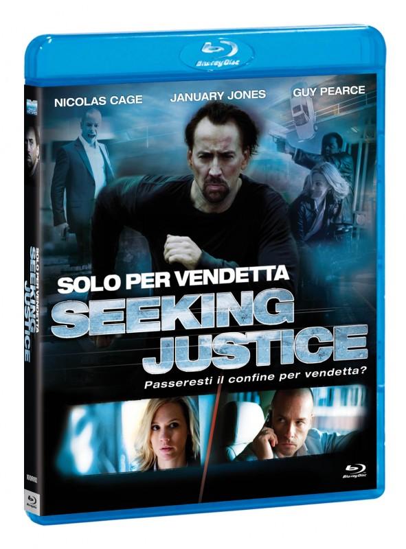 La copertina di Solo per vendetta (blu-ray)