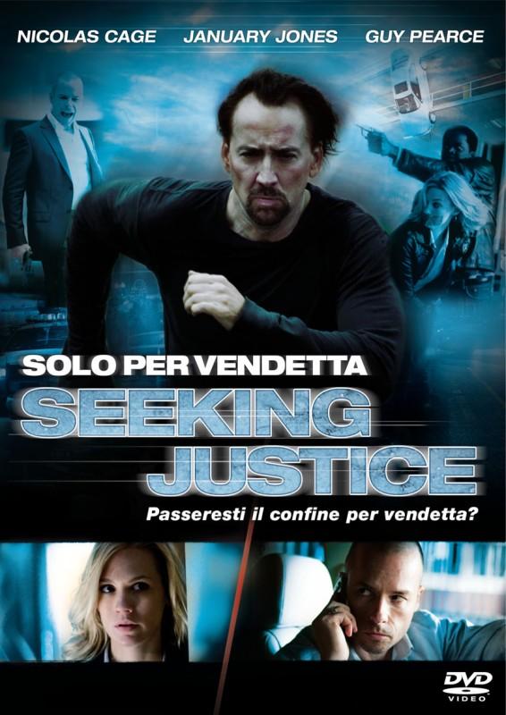 La copertina di Solo per vendetta (dvd)