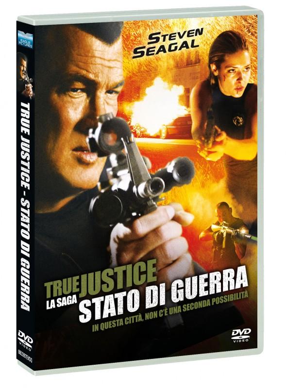 La copertina di True Justice - Stato di guerra (dvd)
