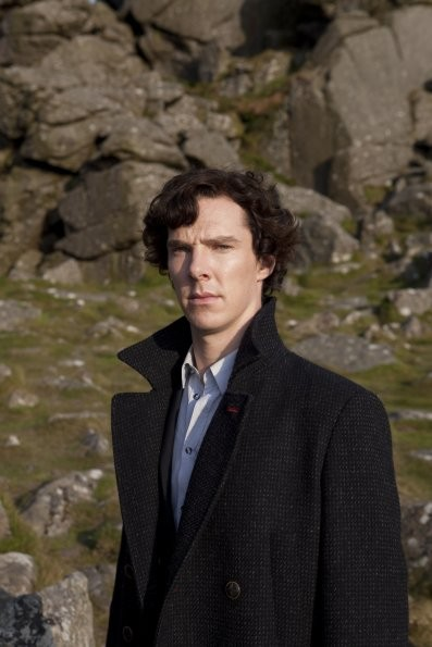 Sherlock: Benedict Cumberbatch nell'episodio The Hounds of Baskerville