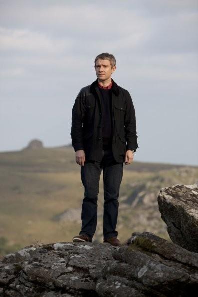 Sherlock: Martin Freeman nell'episodio The Hounds of Baskerville